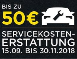 Pirelli - Jetzt bis zu 50€ Servicekosten zurückerhalten!
