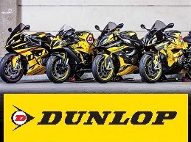 Dunlop Motorrad Kampagne